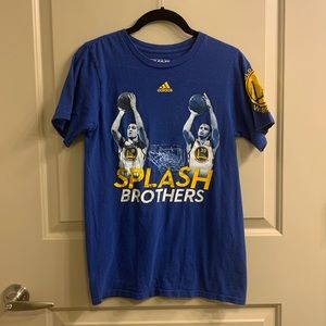 Golden State Warriors Splash Bros Shirt